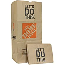 The Home Depot Heavy Duty Brown Paper Lawn and Refuse Bags for Home and Garden, 30 gal