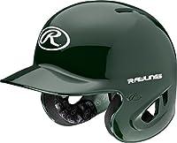 Rawlings 90 MPH College/High School Batting Helmet, Green, X-Large