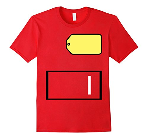 Mens Game Show Group Halloween Costume T-Shirt Medium Red