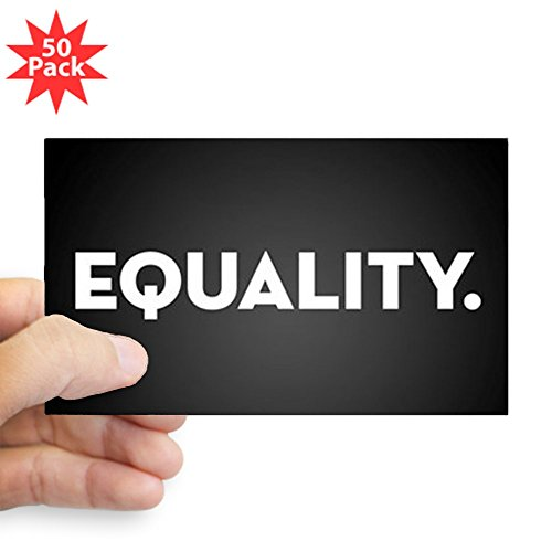 CafePress - Equality - Sticker (Rectangle 50 pk) by CafePress
