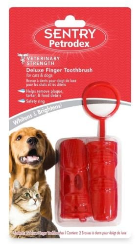 Petrodex Deluxe Finger Toothbrush Dog & Cat