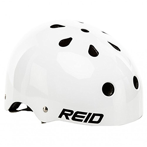 Reid Cycles Classic Skate Style Helmet – One Size (White)
