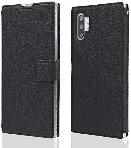 Samsung Galaxy S8 レザー ケース, 手帳型 サムスン ギャラクシー S8 本革 ポーチケース 全面保護 ビジネス カバー収納 財布 無料付スマホ防水ポーチIPX8 White1