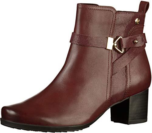 Boots 21 9 9 019 25418 Women's Caprice Ankle Bordeaux ROTqw0Ix