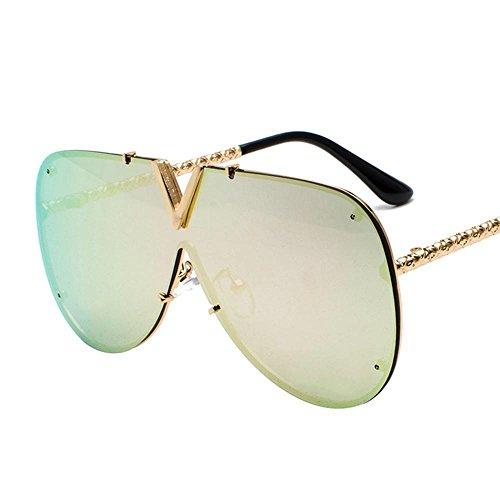 Aoligei Lunettes de soleil fashion tendance lunettes de soleil personnalité lunettes de soleil S2bMBZS