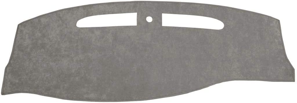 Custom Dash Cover - Compatible with 2004-2008 Ford Pick-up F-150 XL, XLT, STX (Suede, Gray)