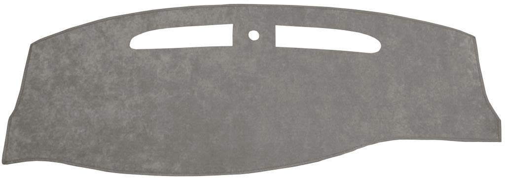 Fits 2002-2009 Custom Suede, Gray Seat Covers Unlimited Chevy Trailblazer Dash Cover Mat Pad