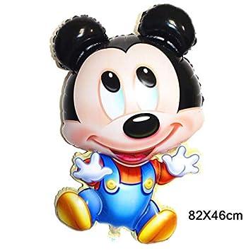 Amazon.com: 1 bola de fiesta de cumpleaños, diseño de Mickey ...