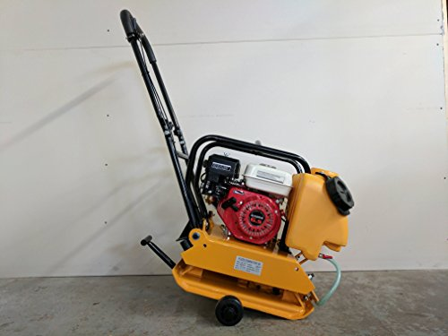 Stone Plate Compactor - Hoc Plate Compactor Tamper C90 + Water Kit + Wheel Kit + 2 Year Warranty