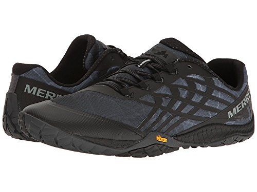 Merrell Men's Trail Glove 4 Runner, Black, 7.5 M US