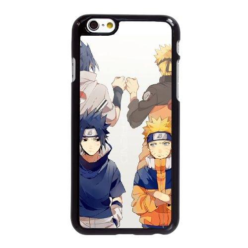 T3B23 Naruto G8N3FU coque iPhone 6 4.7 pouces Cas de couverture de téléphone portable coque noire DJ3LHF2VI