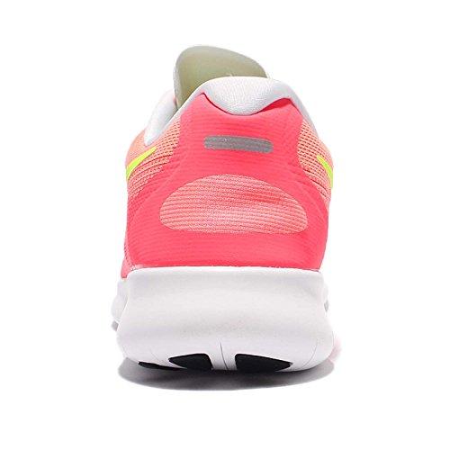 Nike Wmns Free Rn 2, Zapatos para Correr para Mujer SUNSET GLOW/VOLT-HOT PUNCH