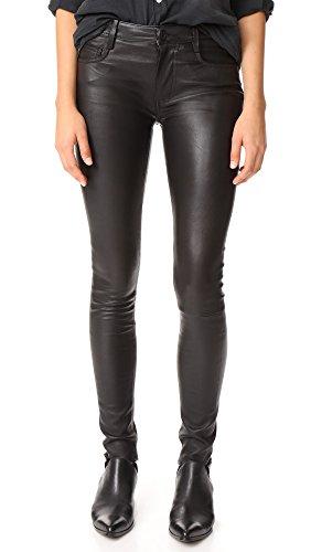 - Mackage Women's Peppa Leather Pants, Black, 2