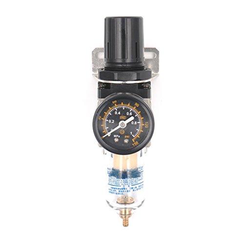 Baomain Air Source Treatment AW2000-02 1/4'' PT w 0-1Mpa Air Pressure Gauge by Baomain