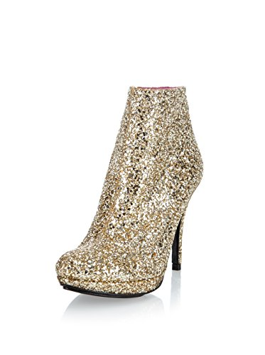 Buffalo London Zapatos abotinados  Dorado EU 41