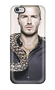 For Iphone 6 Plus Tpu Phone Case Cover(david Beckham Soccer )