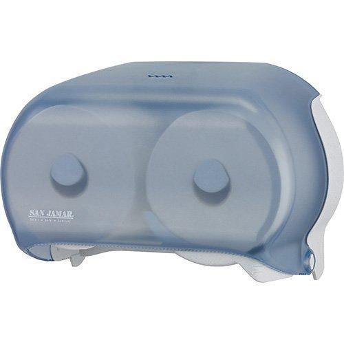 Dispenser Standard Versatwin Tissue - SANR3600TBK - Versatwin Standard Tissue Dispenser, 2 Roll, 12-1/4 X 5-3/4 X 8-1/4, Black Pearl