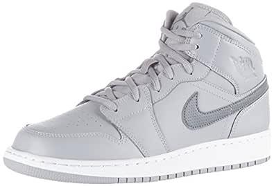Nike 554725-033, Zapatillas de Baloncesto para Niños, Gris (Wolf ...