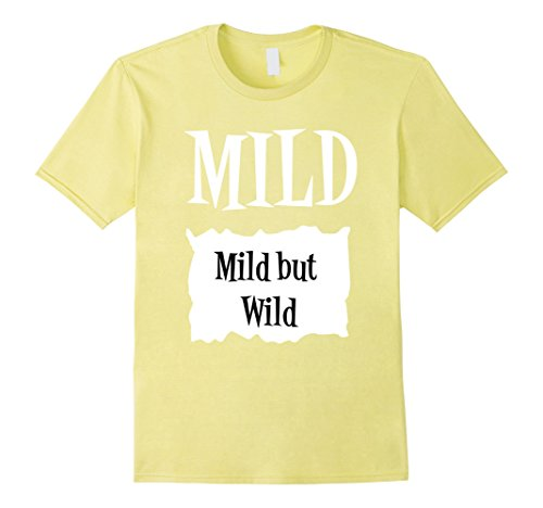 Work Appropriate Group Costume Ideas (Mens Halloween Costume T Shirts - Mild Hot Sauce Packet Taco Tee Large Lemon)