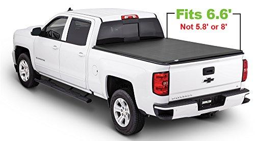 Tonno Pro Tonno Fold 42-108 TRI-FOLD Truck Bed Tonneau Cover 2014-2018 Chevrolet Silverado/GMC Sierra 1500, 2015-2018 Silverado 2500/GMC Sierra 2500, 2500 HD | Fits 6.6' Bed