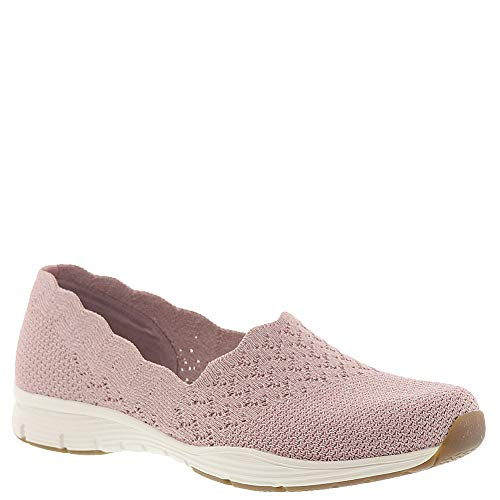 Air Cooled Shoes - Skechers USA Seager Stat Women's Slip On 7 B(M) US Rose