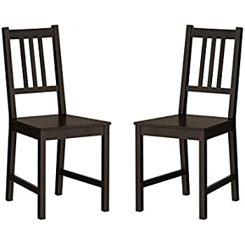 ikea black furniture. Ikea Wood Chairs Dining Room Kitchen Dinette 2 Ikea Black Furniture E