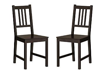 Marvelous Amazon Com Ikea Wood Chairs Dining Room Kitchen Dinette 2 Ibusinesslaw Wood Chair Design Ideas Ibusinesslaworg