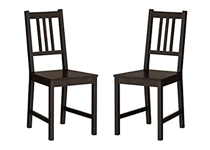 Admirable Amazon Com Ikea Wood Chairs Dining Room Kitchen Dinette 2 Inzonedesignstudio Interior Chair Design Inzonedesignstudiocom