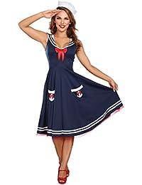 Women's All Aboard Costume