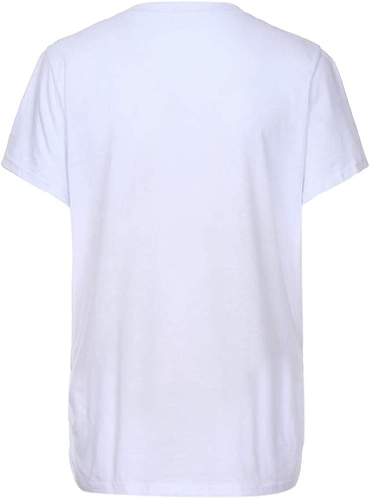 Damen Umstands-Oberteil Top T-Shirt Umstandsmode T-Shirt mit Motiv Schwangerschaft Kurzarmshirts Umstandskleidung Damen T-Shirt Druck Oberteil f/ür Schwangere.