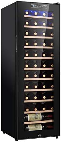 WANGLX 飲料冷蔵庫やクーラー - ロックとガラスドア、ユニークなブナの棚と赤ワイン内閣ホームアイスバー - ワインコレクションとOfficeやバーのためのビッグ飲料冷蔵庫クーラー (Size : No hanging cup frame)