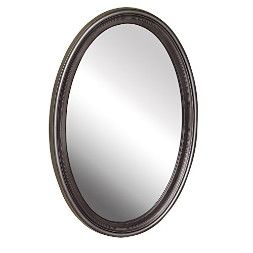 American Pride 9508PEW 9508PEW-Warwick Decorative Framed Oval Mirror 21