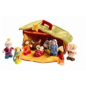 Lilliputiens 87588 bel n de juguete juguetes for Amazon figuras belen