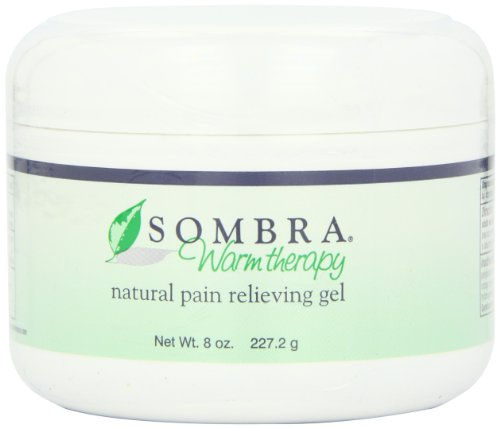 Sombra Warm Therapy Natural Pain Relieving Gel, 8-Ounce, Health Care Stuffs