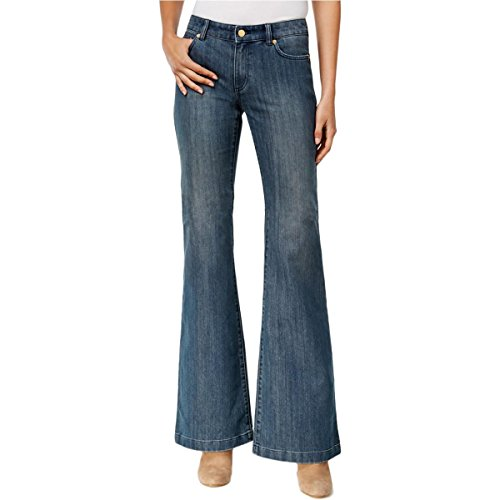 Blue 2 Flare Jeans - 5