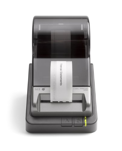 Seiko Instruments Smart Label Printer 650, USB, PC/Mac, 3.94 inches/second, 300 DPI