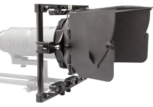 Cinevate CIMBAS000004 TITAN Swing Away Matte Box (Black) by Cinevate