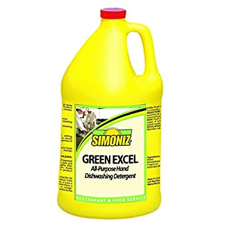 Simoniz G1378004 - Detergente líquido para lavavajillas, 1 botella ...