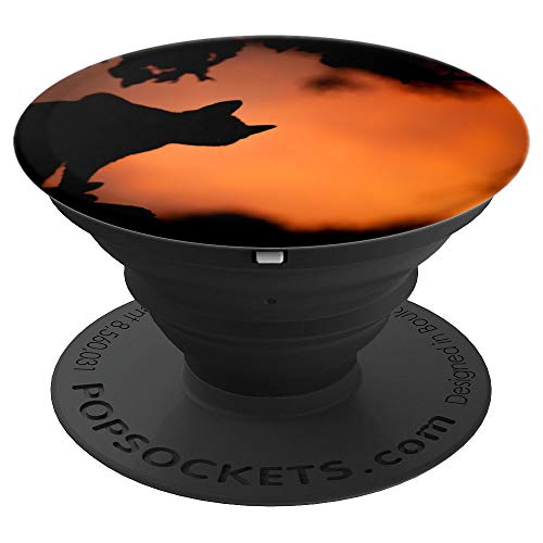 Spooky Kitty - PopSockets Grip and Stand for Phones and -