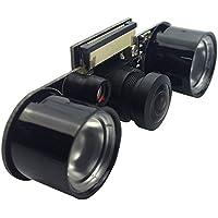Eleduino Raspberry Pi Camera 5 Megapixel,1080p Fisheye Lens Wider Field of View, Supports Night Vision