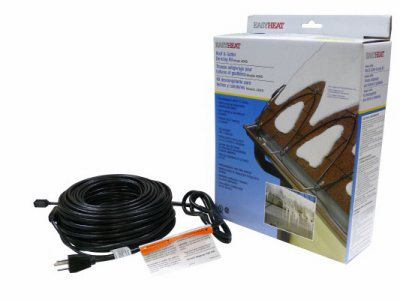 Easy Roof Electric Heat (Easy Heat ADKS-150 30' Roof/Gutter Kit)