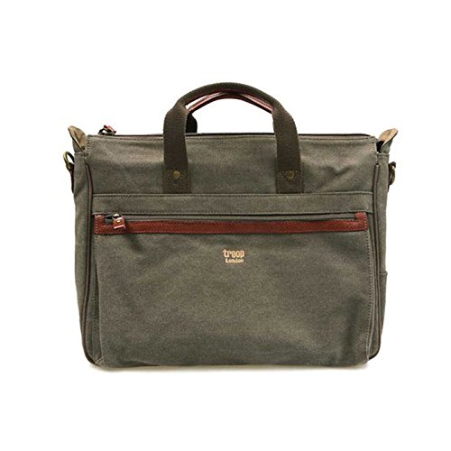 troop-london-trp-0215-laptop-bag-briefcase-canvas-fabric-leather-waterproof