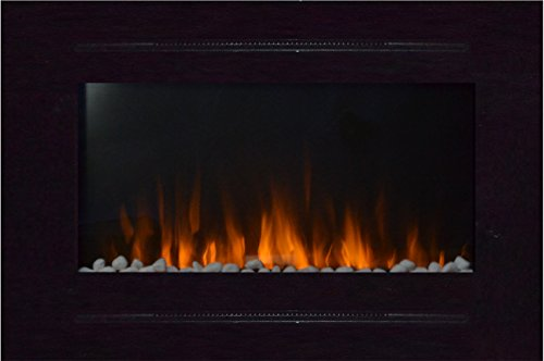 80006 Forte In-Wall Recessed Electric Fireplace, 40 Inch Wide ...