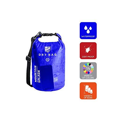 Waterproof Bag-Dry Bag-Waterproof Backpack-Dry Bags-Dry Sack-Dry Pack-Waterproof Bags-Kayak Bag-Boat Bag-Dry Backpack-Camping Gear Bag-Bag Waterproof-Dry Bag Backpack-Wet Dry Sack (5L, Ocean Water)