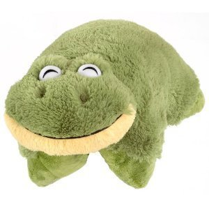 Pee Wee Genuine Pillow Pet FROG Small 11''