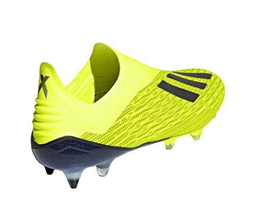 Fútbol Amarillo cblack De cblack Syello syello ftwwht Hombre Zapatillas Adidas Para ftwwht X Sg 18 1HxX8q
