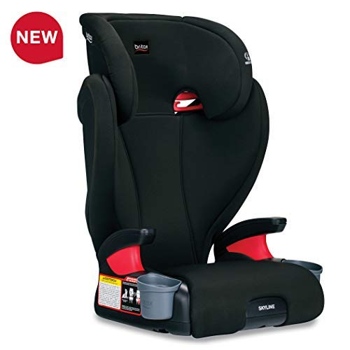 41s2LRFSPSL - Britax Skyline 2-Stage Belt-Positioning Booster Car Seat - Highback And Backless | 2 Layer Impact Protection - 40 To 120 Pounds, Dusk