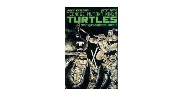 TORTUGAS NINJA -VOLUMEN 1 (Spanish Edition): EASTMAN KEVIN ...