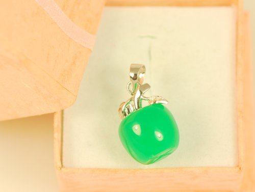 Apple Green Jade Pendant