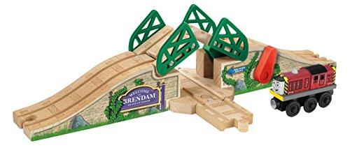 Fisher Price Thomas the Train Wooden Railway Stone Drawbr...